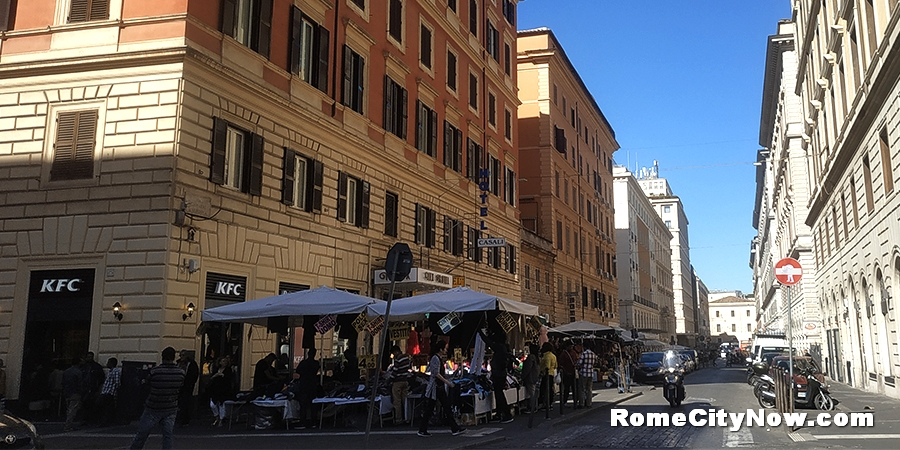 Apartments near Termini for rent