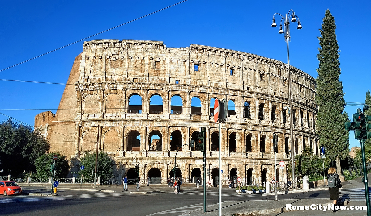 Colosseum Square in Rome