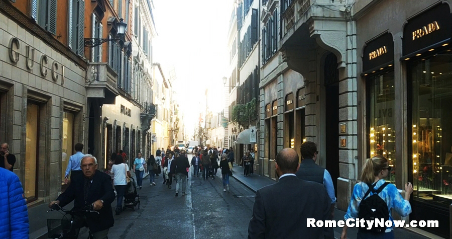 Clothes Shops in Rome
