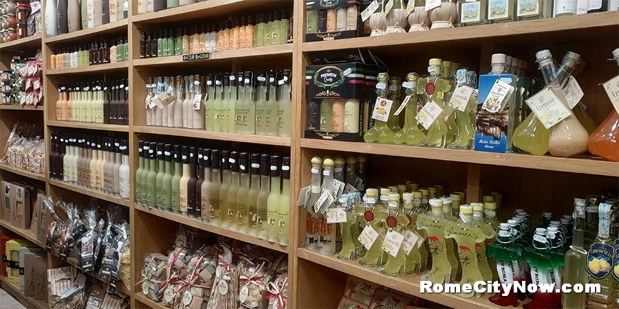 Liquor and gifts shop in Rome - Enoteca Guerrini