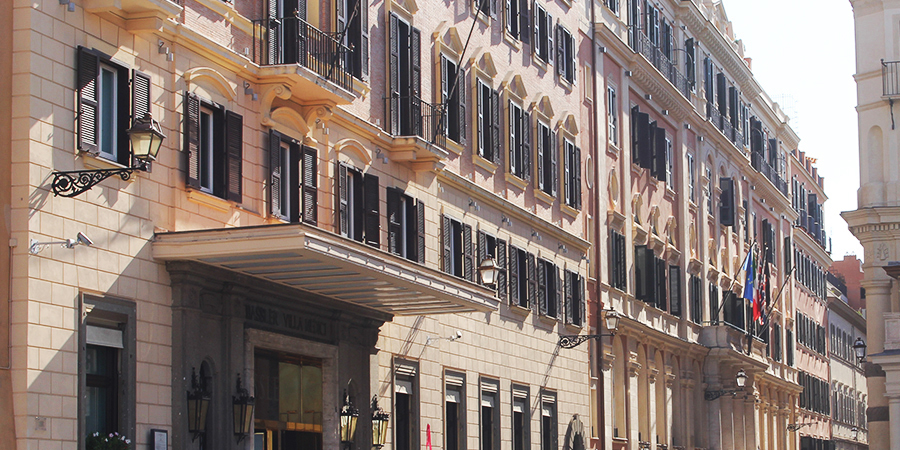 Historic Hotels in Rome - Hassler Roma